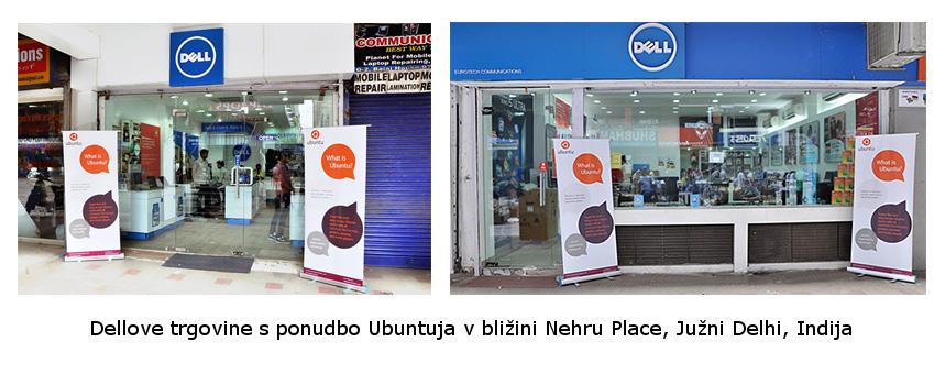 Dellova trgovina v Indiji