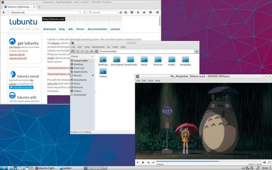 Lubuntu 16.04 - privzeti programi